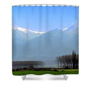 The Colors Of Mount Olympus Shower Curtain