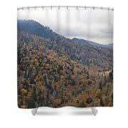 The Colors Of The Smokies Shower Curtain