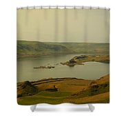 The Columbia River From Maryhill Shower Curtain