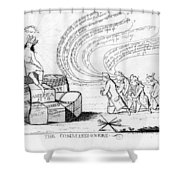 The Commissioners, 1778 Shower Curtain