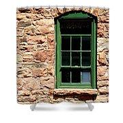 The Comondant Lived Here Shower Curtain by Joe Kozlowski