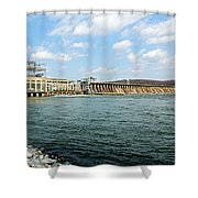 The Conowingo Dam Shower Curtain