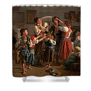 The Conscript's Farewell  Shower Curtain