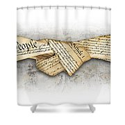 The Constitution Shower Curtain