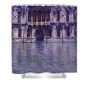 The Contarini Palace Shower Curtain