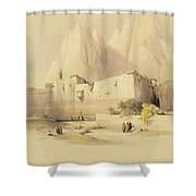The Convent Of St. Catherine Shower Curtain