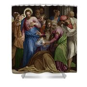 The Conversion Of Mary Magdalene Shower Curtain