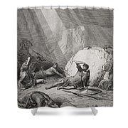 The Conversion Of St. Paul Shower Curtain