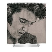 The Cool King Shower Curtain