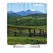 The Corral Shower Curtain