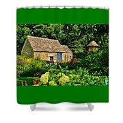 The Cotswald Barn And Dovecove Shower Curtain