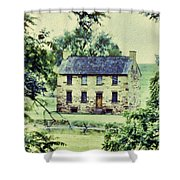 The Cottage Shower Curtain