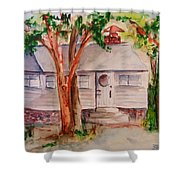 The Cottage In The Highlands Shower Curtain