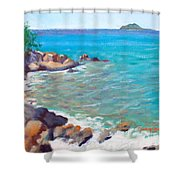 The Cottage View Shower Curtain