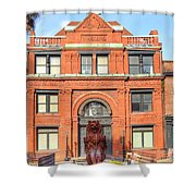 The Cotton Exchange Building Shower Curtain