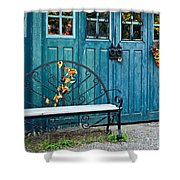 The Country Forge Shower Curtain