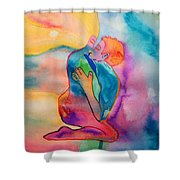 The Couple Image 2 Shower Curtain