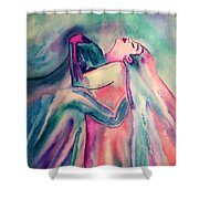 The Couple Image 4 Shower Curtain