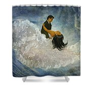 The Couple's First Dance Shower Curtain