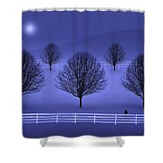 The Course Shower Curtain