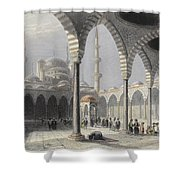 The Court Of The Mosque Of Sultan Shower Curtain