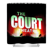 The Court Theatre Shower Curtain