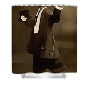 The Courtship Vintage Art Reproduction  Shower Curtain