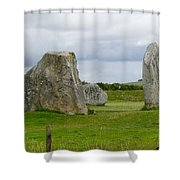 The Cove At Avebury Shower Curtain