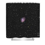 The Crab Nebula, A Supernova Remnant Shower Curtain
