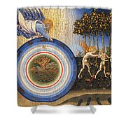 The Creation Of The World And The Expulsion From Paradise Shower Curtain