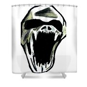 The Creature Shower Curtain