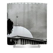 The Crescent And Star Shower Curtain