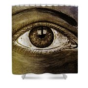 The Cross Eye Shower Curtain
