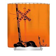 The Crossing A Shower Curtain