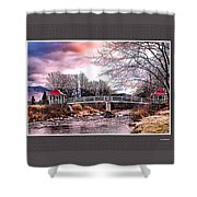 The Crossing II Brenton Woods Nh Shower Curtain