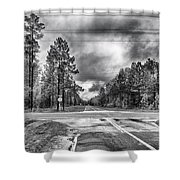 The Crossroads Shower Curtain