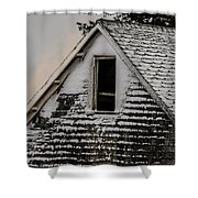 The Crows Nest Shower Curtain by Susan Capuano
