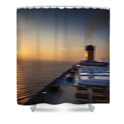 The Cruise Shower Curtain