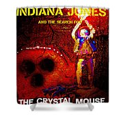 The Crystal Mouse Shower Curtain
