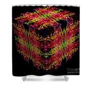 The Cube 1 Shower Curtain