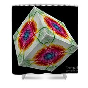 The Cube 10 Shower Curtain