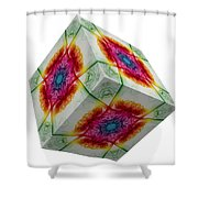 The Cube 3 Shower Curtain