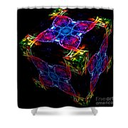 The Cube 4 Shower Curtain