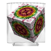 The Cube 5 Shower Curtain