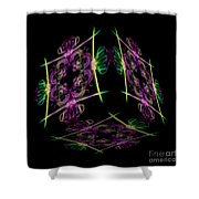 The Cube 7 Shower Curtain