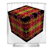 The Cube 8 Shower Curtain
