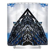 The Cube Shower Curtain