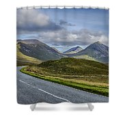 The Cuillin Mountains Of Skye 2 Shower Curtain