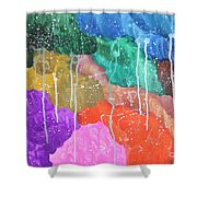 2012 The Curtain Of The Sky 02 Shower Curtain