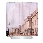 The Custom House, From London Shower Curtain